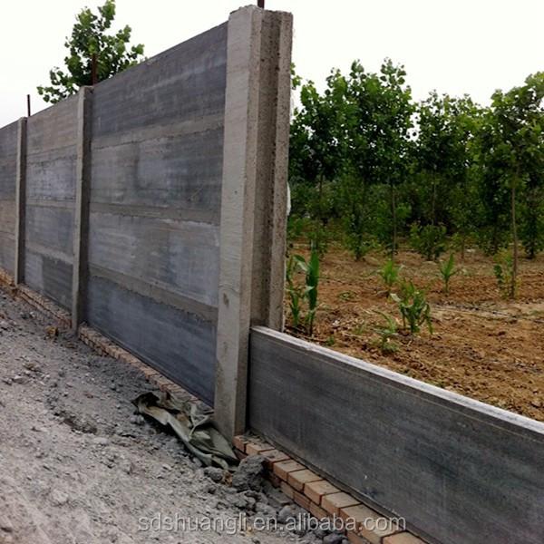 Precast Fence Wall : Wall rendering machine precast concrete boundary walls