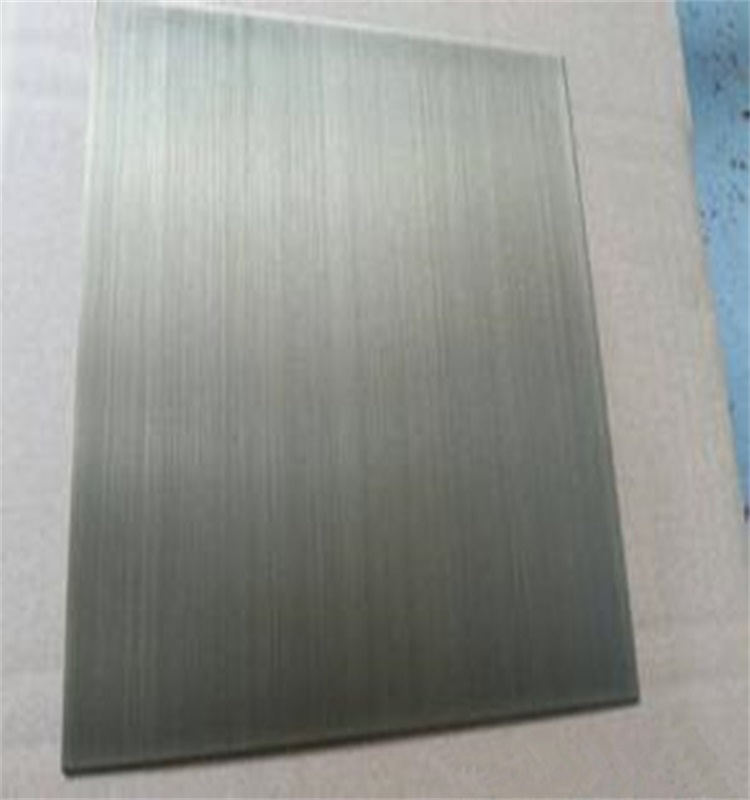 Sheet Type and SGS Certification SUS 304 hairline stainless steel