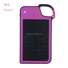 China Wholesale 5V 2.1A Best Portable Dual USB Car Charger Solar Power Bank