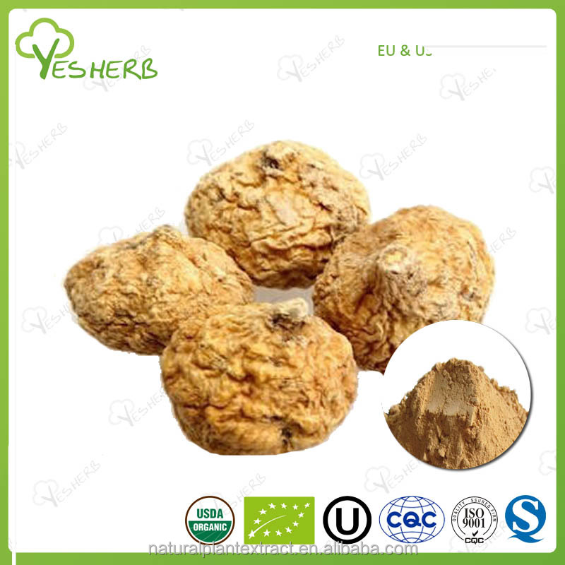 Organic certified maca root extract