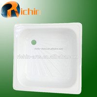 High quality enamel steel shower bases