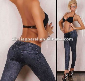 Sex tights that look like jeans