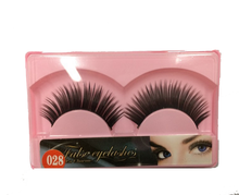 colorful artificial select eyelashes Fake False Eye Lash