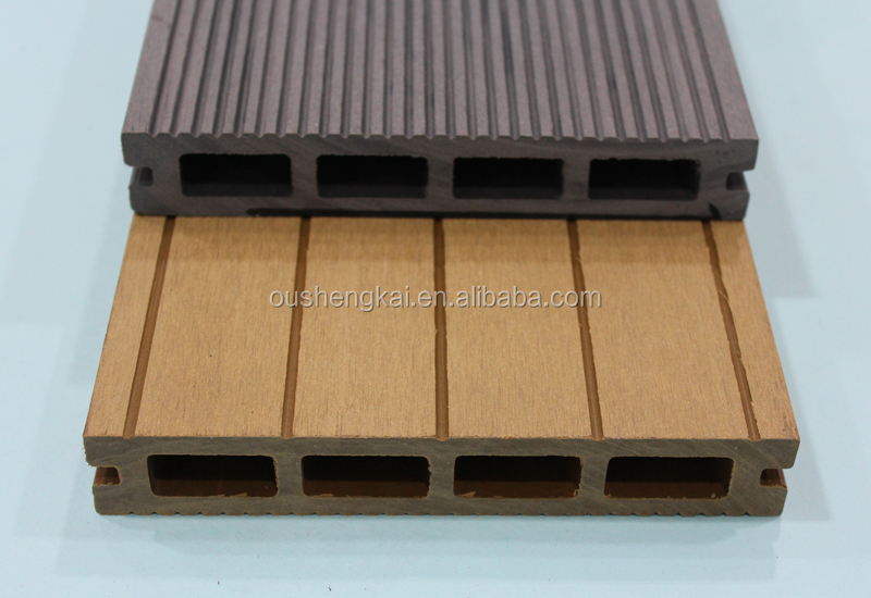 Engineered WPC Composite Decking Wooden Laminated Flooring