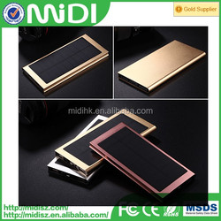 Usb Factory price high quality new solar power bank charger products slim
