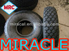 Detachable Dental 300mm Rubber Wheels Small Size