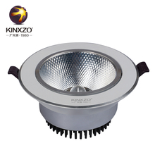 Adjustable warehouse 15w cob led downlight for shop