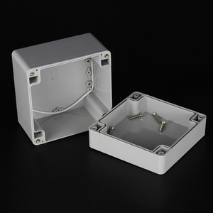 Unizen high quality gives you surprise IP66 ABS 90*120*120mm watertight fully enclosure waterproof electrical junction box