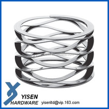 ISO9001,TS16949, RoHS compliant professional flat wire compression wave spring