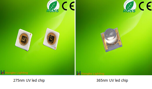 Water purification 300nm 310nm 280nm deep uv led 0.2w led chip price