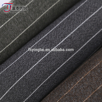 Free sample TR striped woven fabric 97% polyester 3% spandex yarn dyed fabric for garment