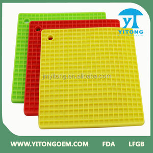 new products 2016 Mesh Flexible Non Stick Cook Freezer Professional Fiberglass Silicone Baking Mat