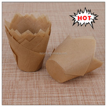 low price easy separate tulip Muffin baking cases food paper supply