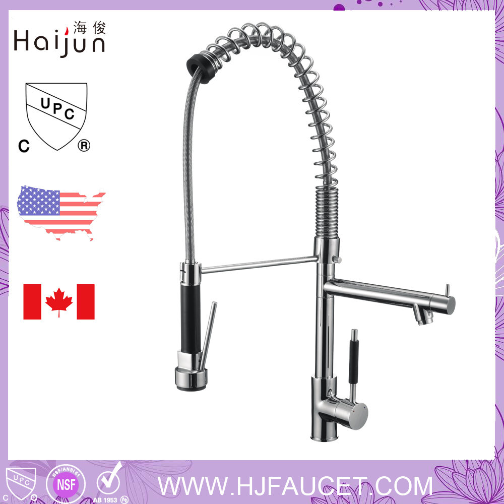 Hot Sale Dual Handles Brass Kitchen water Faucet Tap (82H31-CHR)