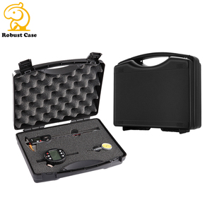 Factory price plastic case pp plastic material box carry tool case with foam