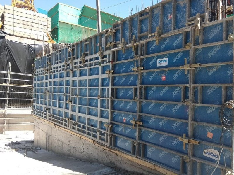 DOM PP faced plastic formwork plywood