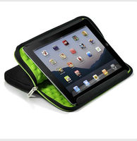 neoprene case with bubble for ipad bag