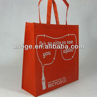 2015 hot selling matt laminated recycled pet rpet tote bag in China