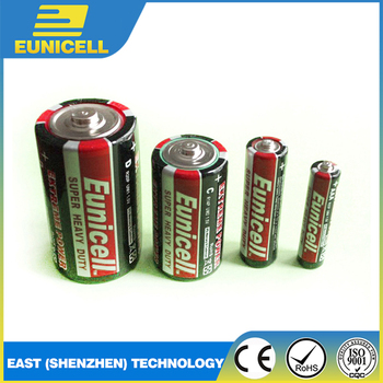 Super 1.5V D R20 UM1 Heavy Duty Carbon Zinc Battery