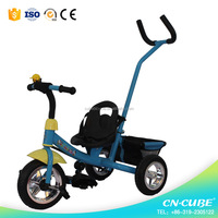 Iron frame and new PP material Kids 3 wheel bike