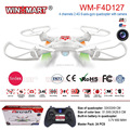 Flying toys 2.4G 4 channel 6 axis gyro uav quadcopter with camera and led light