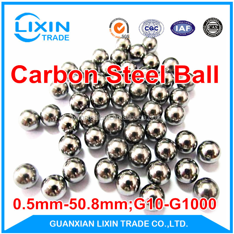 New Produced 4.905mm Carbon Steel Ball for Bearings with Large Stock