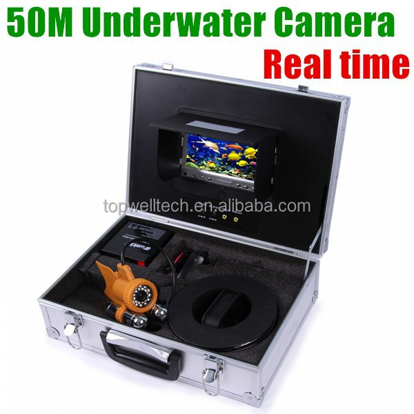 Cheap Professional 50 meters real time fishing infared cheap underwater digital camera