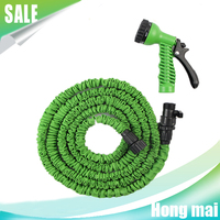 2016 High Quality Premium Expandable Magic Flexible Garden hose Water Hose 25 50 75 100 150 FT with Spray Nozzle 8 function gun