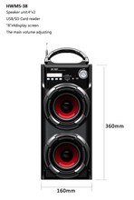 4'',5 inch,6 inches hot multimedia cheapest portable speaker home outdoor square dance travel speaker