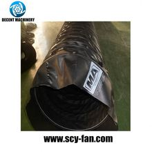 gas stove flexible reinforced pvc duct hose with regCEator connector
