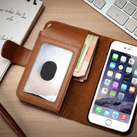 2015 iCase Multicolor flip leather PU wallet crown pouch leather smart case for iphone 6