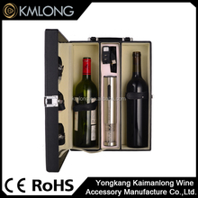 High quality electric wine bottle opener wine corkscrew with wine accessories gift set