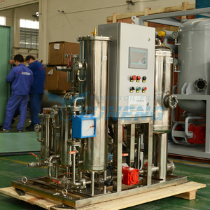 Stainless Steel Fire Resistant Hydraulic Oil Purifier