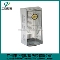 Hot China factory plastic crown box with fast delivery
