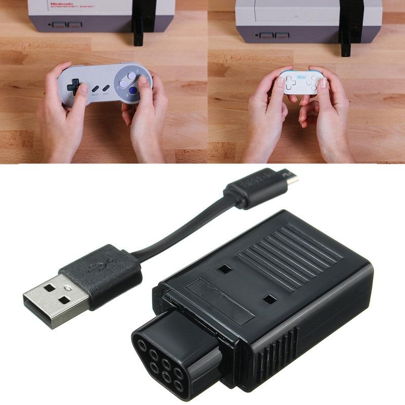 New Handles Wireless Retro Receiver For PS3 for PS4 for Wii U Remote to Game Controller Gamepads