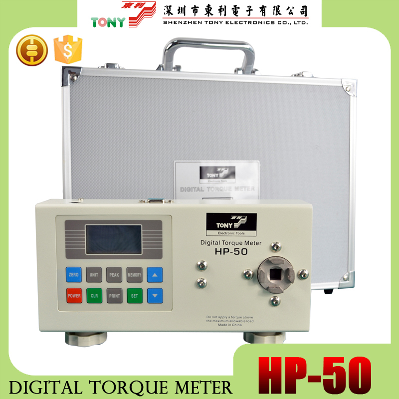Digital Torque Tester Meter HP-50 , wrench testing convenient apparatus , electronic torque meter