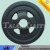 Carbon Steel casting blance discs sand casting for construction machinery