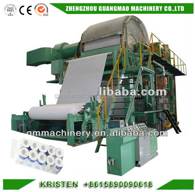 1575mm Tissue Paper Toilet Paper Machine for Sale and Paper Production Line