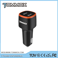 Cigarette Lighter Power Adapters DC 5V 4.8A Dual USB Ports Smart Car Charger