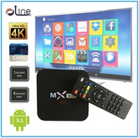2016 Olympic Penta core GPU Android 5.1 4k tt tv box mx905 Android stb
