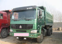 Used/Secondhand HOWO Dump/Tipper Truck 6x4
