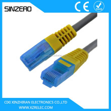 Cat6 utp lan cable XZRC011/RJ45 to RJ45 CAT 6 Ethernet Cable/4 pair utp flat cat6 network cable/cat6 patch cable