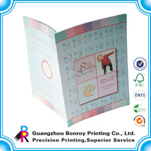 Printing Full Color High Quality Safe Children Educational Planning Books