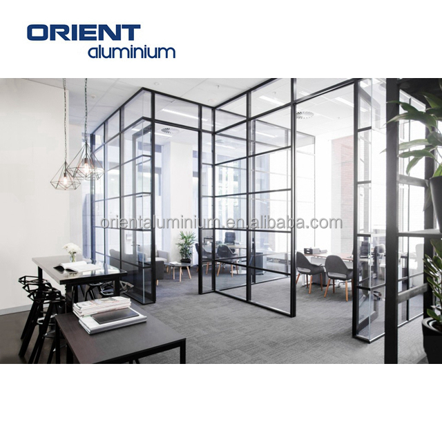 new products special discount aluminium frame wall glass partition