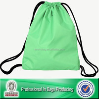 Custom Cheap Polyester Waterproof Recycle Drawstring Bag For Promotional, Laundry Bag, Backpack Bag