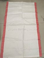 custom perfect printing 25kg 50kg plastic packing size pp woven rice bag