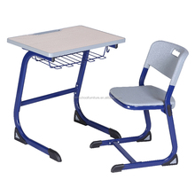 Cheap Adult School Student desk and chair for India and Pakistan