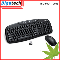 Latest Computer mini cheap wireless keyboard and mouse