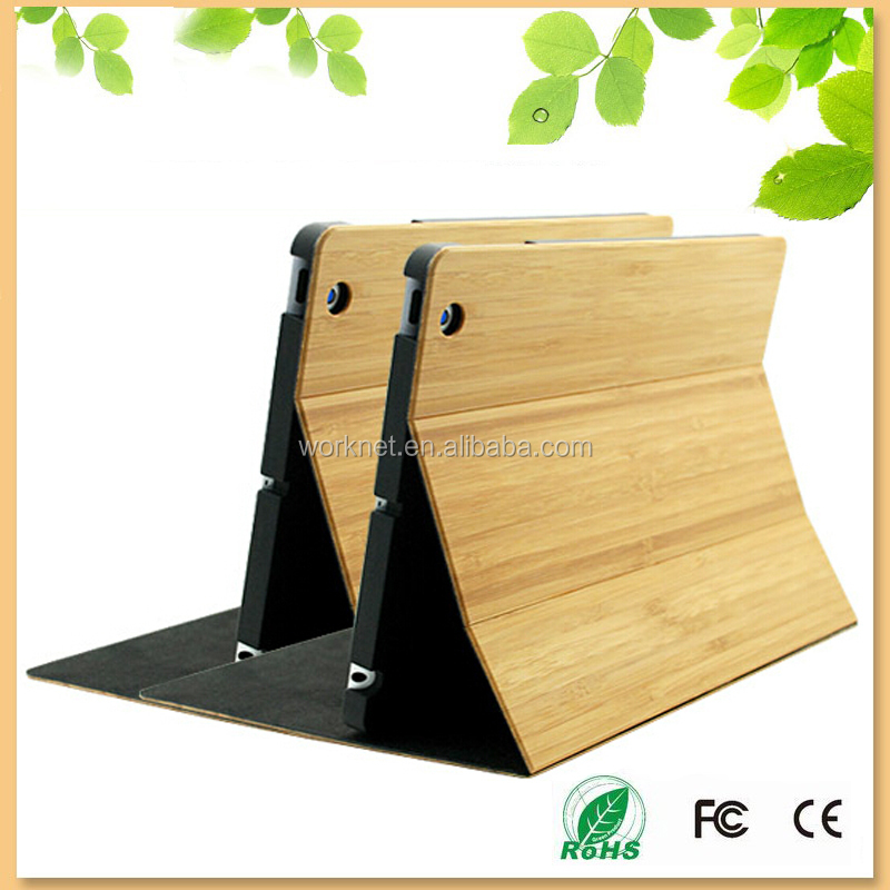 Shenzhen factory new product for bamboo ipad mini 4 case, for iPad mini 4 bamboo case