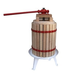 18L,wooden juicer,press basket,with GS certification